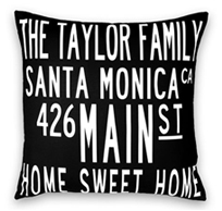 family pillows